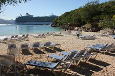 Royal Caribbean Freedom of the Seas at Labadee - Nellie's Beach