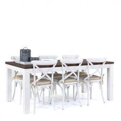Meubels  Tafels  Halifax, Eetset (tafel+6 stoelen), Eettafel Halifax ...