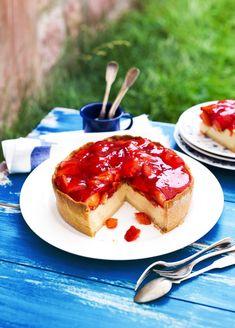 Erdbeer-Käsekuchen | Rezepte von Simply Yummy