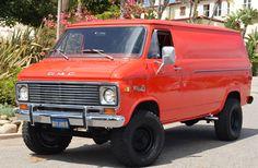 4bfb07bf71  77 GMC VANdura 35 PATHFINDER 4x4 4x4 Van Conversion