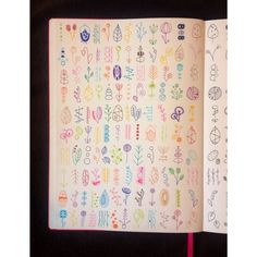 simple sketches natural forms quirky symbols drawings easy sketchbook lots shot