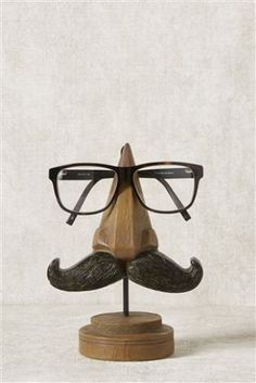 Buy Moustache Glasses Stand from the Next UK online shop Woodworking Projects Diy, Wood Projects, Eyeglass Holder, Everyday Objects, Dremel, Moustache, Furniture Collection, Wood Carving, Wood Art