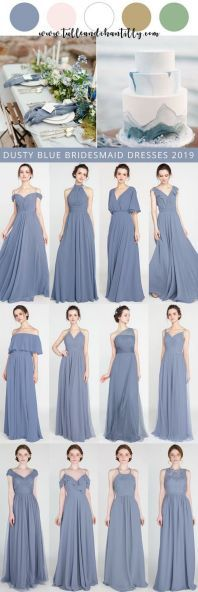4f59ccf1f1d9 42 Best Dusty blue weddings images in 2019