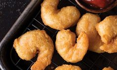 Redhook® Amber Beer-Battered Shrimp | Frying shrimp requires time, added ingredients, and can create quite a mess - ours go from freezer-to-oven and are ready in 12 minutes. What could be better than that? Two words: Beer. Battered. Shop now: http://www.omahasteaks.com/product/Redhook-Amber-Beer-Battered-Shrimp-1-16-oz-02761?SRC=RZ0637