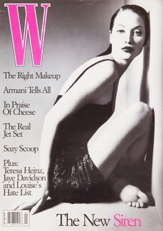 W Magazine's Supermodel Cover Girls - W Magazine January 1995