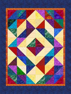New World 2 | This computer-illustrated quilt was completed … | Flickr