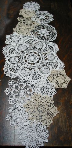lot of 14 Hand Crochet Doily 5715 RD for by GrannysHeritage