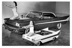 The 1958 DeSoto came in every size imaginable-- full size and toy size.