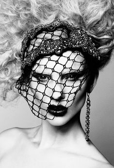 Hat with heavy net