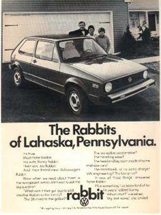 VW's Volkswagen Rabbit (1975)