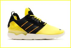 879034f3d4c7 adidas Originals ZX 8000 Boost Bright Yellow Core Black Cream White  The  latest remix from adidas Originals of the classic ZX 8000 silhouette comes  in the ...