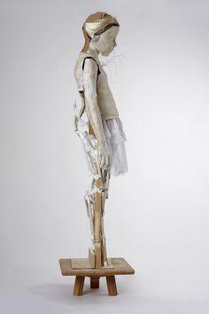 Artist Study with thanks to Vally Nomidou, Sculptor,Art Student Resources for CAPI ::: Create Art Portfolio Ideas @ milliande.com, Art School Portfolio Work, Sculpture, Assemblage, Clay, Form