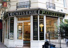 Boulangerie du Moulin de la Galette, Boris Lumé, Paris 18è. This is where the heroine in Julia Child buys her baguettes each day. Beautiful and quaint.