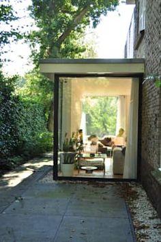 Uitbreiding monumentale woning Bergen: moderne Huizen door Nico Dekker Ontwerp & Bouwkunde