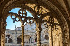 Tracery 1, The Cloisters, Mosteiro dos Jeronimos, Belem, Lisbon