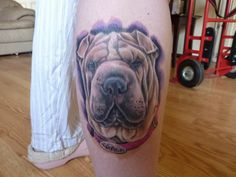 The 10 Coolest Shar Pei Tattoo Designs In The World