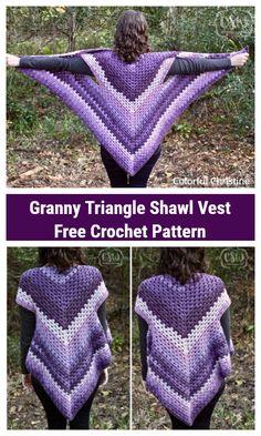 Crochet Shawls And Wraps, Crochet Scarves, Crochet Yarn, Crochet Shrugs, Crochet Sweaters, Baby Blanket Crochet, Crochet Instructions, Crochet Diagram, Crochet Free Patterns