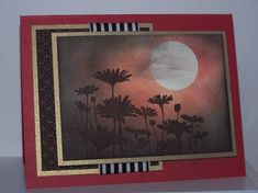 Upsy Daisy Sunset by heartsong47 - Cards and Paper Crafts at Splitcoaststampers