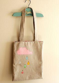 Cute little rain bag.