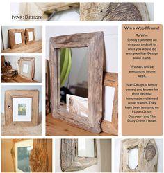 FÁBÓL FABRIKA, kreatív blog: tükör- és képkeretek Recycled Home Decor, Reclaimed Wood Frames, Recycling, Green, Blog, Handmade, Hand Made, Blogging, Upcycle