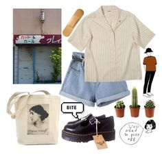 """""""49"""" by ourijimin ❤ liked on Polyvore featuring Pupa and Dr. Martens"""