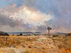 landscape with windmill south africa - Google Search Windmill, South Africa, Clouds, Watercolor, Landscape, Canvas, Artist, Photography, Painting
