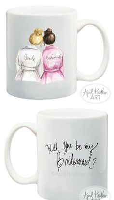 97602cdf34d 10 Will You be my Bridesmaid Ideas