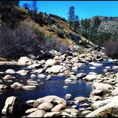 Alder creek natural waterslides close to kernville ca for Kern river fishing spots