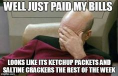 Thank god for WIC or Brooklyn would be eating ketchup and crackers with me