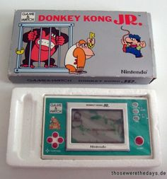 Donkey Kong Jr.!! I took this with me everywhere!