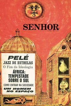 "Cover Brazilian magazine ""Senhor"""