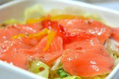Il salmone nel periodo invernale riesce ad esprimere il meglio dei sapori delle sue carni grasse. Ecco una ricetta semplice di grandissimo effetto. La scelta del Salmone Migliore Per la buona riuscita del piatto occorrescegliere il miglior salmone. Ecco alcuni criteri di scelta per riconoscere un buon salmone fresco. 1 - Il colore delle carni…