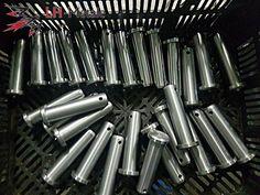 Clevis pins steel zinc  Delivery about one week. #cnc #clevis #pins #zinc #steel #cncworld #cncmill #metalworld #metaalbewerking #metal #neworder #fasteners #index #order #automative #aviation #elektronics