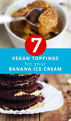 7 vegan topping for your banana ice cream