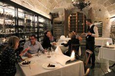 "Erste Gäste im neuen Restaurant ""Le Caveau"" - Best of Swiss Gastro Conference Room, Restaurant, Drinks, Food, Home Decor, Earth Sheltering, Drinking, Beverages, Decoration Home"