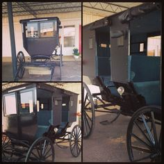 Our NEW Amish buggy!