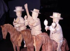 Florida Memory - Puerto Rican santos (wooden carvings or holy ...