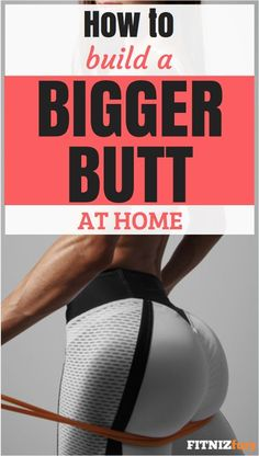 How to build a bigger butt at home. 12 weeks of home butt workouts. Exercise Images, Bum Workout, Fat Burning Workout, Weight Loss Motivation, Strength Training, Stay Fit, Workout Videos, Workout Programs, 12 Weeks