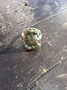 Vintage Sterling Silver Southwest Style by Rachelmariedesigns, $17.00