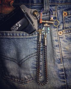 Mens Trends, Wallet Chain, Everyday Carry, Edc, Carry On, Bling, Style, Fashion, Shopping
