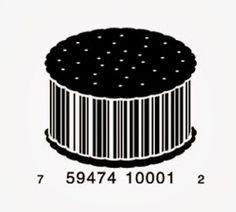 44 Cool and Creative Bar Code Designs Barcode Art, Barcode Design, Graphic Design Typography, Logo Design, Book Sculpture, Design Research, Japanese Design, Layout Inspiration, Art Logo