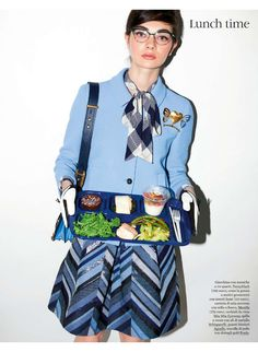 ELLE Italy- Pennyblack jacket and skirt