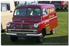 Bedford CA MkI Van. Launched in the CA set new standards for a light van. It was powered by the Wyvern engine Bedford Van, Bedford Truck, Vintage Vans, Vintage Tv, Old School Muscle Cars, Old Lorries, Ice Cream Van, Old Commercials, Day Van