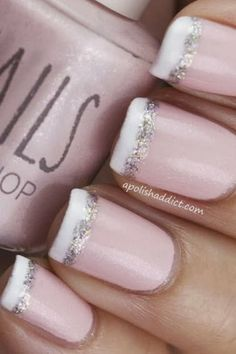 Bridal Nails French Manicure