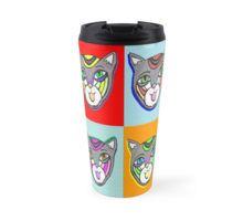 Catheads Rule Travel Mug Travel Mugs, Cups, Phone Cases, Create, Tableware, Shopping, Design, Mugs, Dinnerware