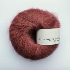 658996f9 Knitting for Olive Soft Silk Mohair - Plum Rose