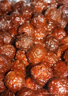 Southern Meatballs aka Grape Jelly Meatballs Worlds Best Recipes: The Best Crock Pot Meatballs You Will Ever Eat This image. Best Meatballs, Crock Pot Meatballs, Party Meatballs, Best Crockpot Meatballs, Cocktail Meatballs, Turkey Meatballs, Crockpot Recipes, Cooking Recipes, Healthy Recipes