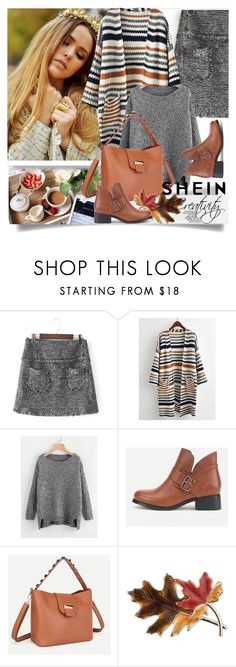 """""""SHEIN V/6"""" by creativity30 ❤ liked on Polyvore featuring Anne Klein and shein"""