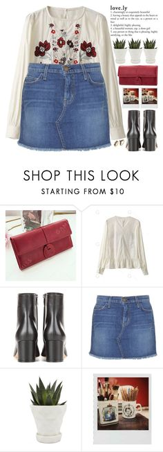 """things will gently fall in place and everything will be fine, babe 💗"" by exco ❤ liked on Polyvore featuring Gianvito Rossi, Current/Elliott, Chive, Polaroid, clean, embroidered, organized, urbanchic and gamiss"