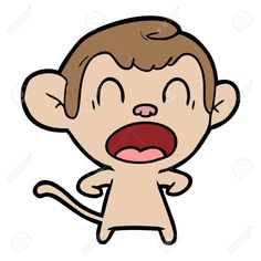 shouting cartoon monkey Illustration , #SPONSORED, #cartoon, #shouting, #Illustration, #monkey Monkey Illustration, Free Vector Illustration, Florist Logo, Cartoon Monkey, Vector Free, Vector Stock, Birds In Flight, How To Draw Hands, Doodles